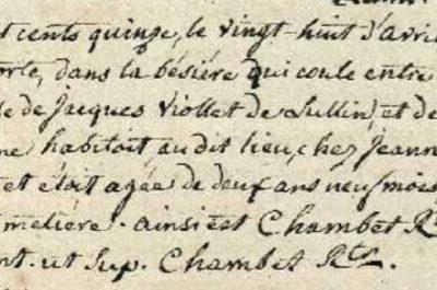 Généalogie Anecdotes Registre Bonne 1815 Acte Décès Noyade