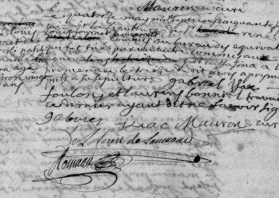 Généalogie Anecdotes Registre Marvejols 1757 Sépulture Meurtre