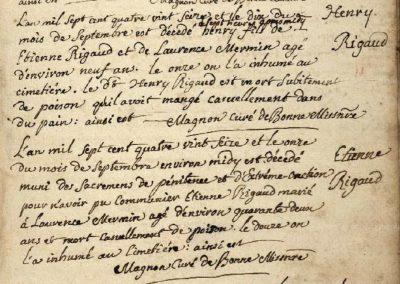 Généalogie Anecdotes Bonne Haute-Savoie Maladies Ergotisme