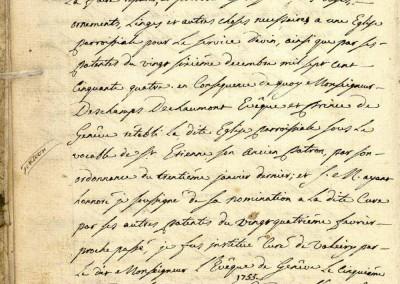 Généalogie Anecdotes Valleiry Haute-Savoie Religion Rétablissements