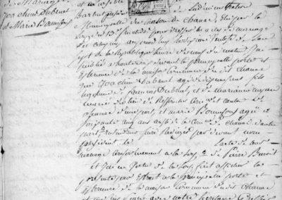 Généalogie Anecdotes Registre Chanac Lozère Records Ecart