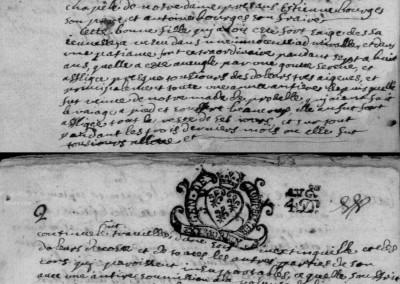 Généalogie Anecdotes Esclanèdes 1692 Maladies Goutte Sereine