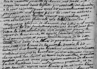 Généalogie Anecdotes Esclanèdes 1714 Religion Octaves