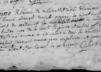 Généalogie Anecdotes Sainte-Colombe-de-Peyre 1767 Crimes Strangulations
