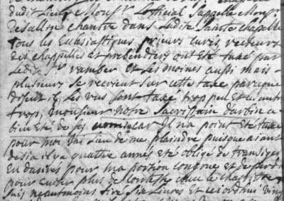 Généalogie Anecdotes Arbin 1720 Taxes Peste