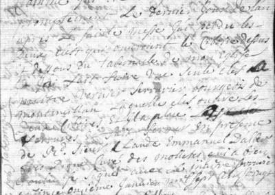 Généalogie Anecdotes Arbin 1726 Églises Clés