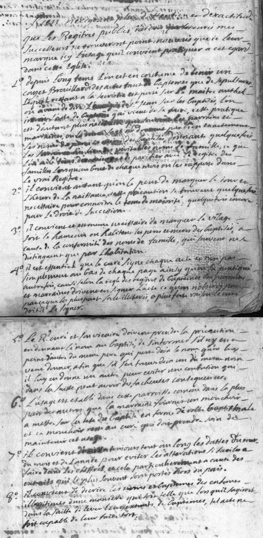 Généalogie Anecdotes Saint-Pierre-d'Albigny 1740 Religion Usage